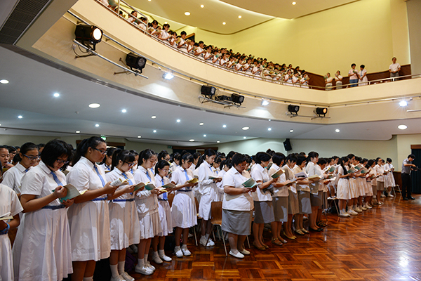 2013-2014學年開學彌撒
