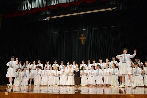 2013年11月15日慶祝會祖真褔苦難瑪利亞瞻禮日活動