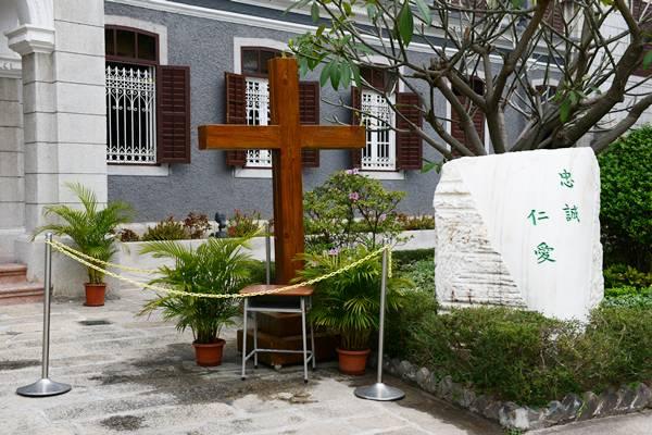 2014年3月5日四旬期安放十字架儀式