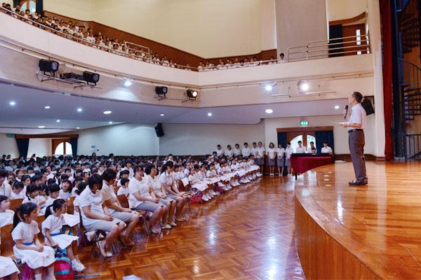 2014年9月1日小學開學禮