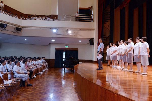 2014年9月1日中學開學禮