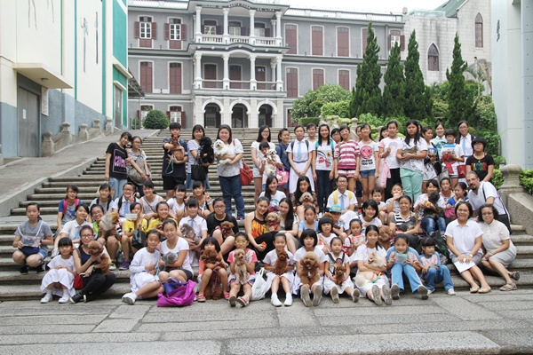 2014年10月3日祝福寵物活動