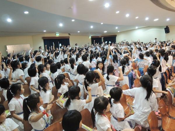 2014年10月27日戲劇農莊澳門學校巡迴話劇-飄零燕