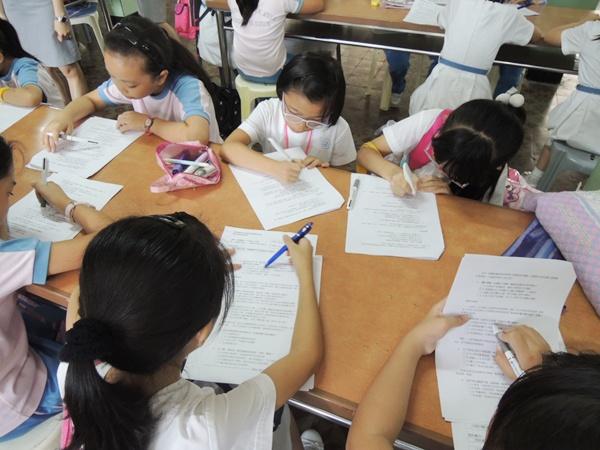 2014年10月30日鏡湖醫院護理學院-校園愛眼護齒活動(小四年級)