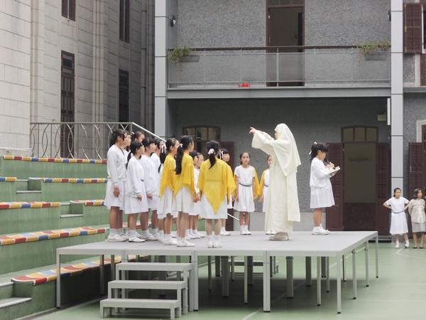2014年11月14日小學部慶祝會祖真福苦難瑪利亞瞻禮日活動