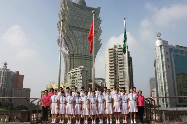 2015年10月1日國慶升旗