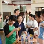 2014年4月28日香港東涌天主教學校來訪交流