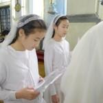 2016年3月26日聖安多尼堂 - 領堅振及初領聖體